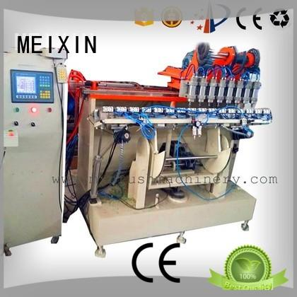 2 grippers 5 Axis Brush Making Machine from China for industry MEIXIN