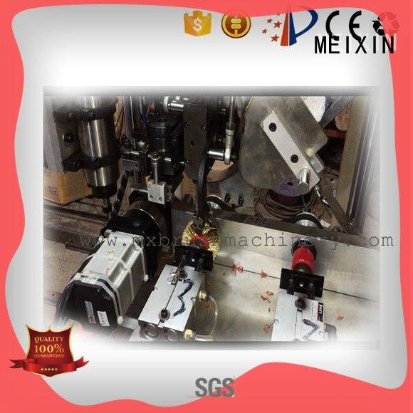 3 grippers Brush Drilling And Tufting Machine factory