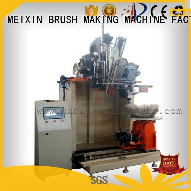 MEIXIN independent motion brush making machine design for PP brush