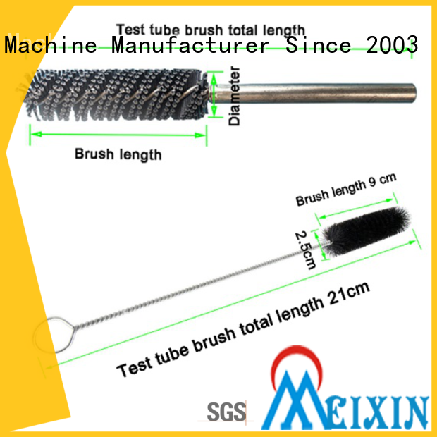 MEIXIN nylon spiral brush wholesale for industrial