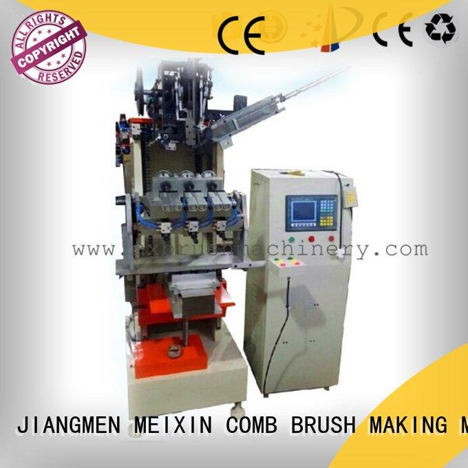 steel wire brush machine pressure alarm for clothes brushes MEIXIN