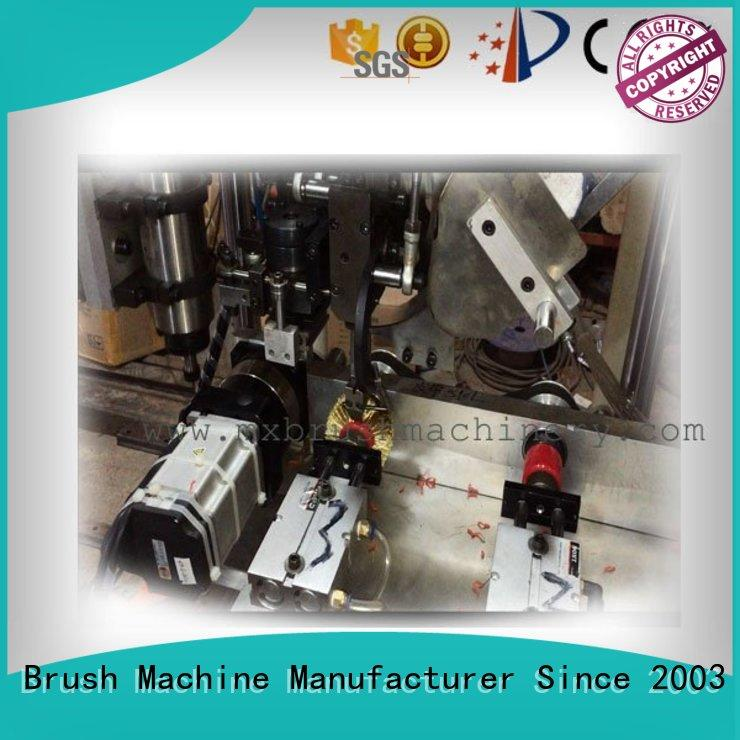 MEIXIN 3 grippers Brush Drilling And Tufting Machine design for bristle brush