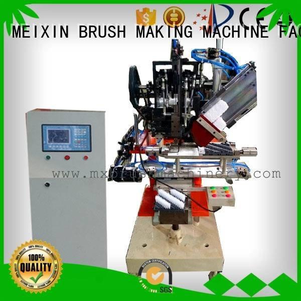 MEIXIN brush snow Brush Making Machine head tufting