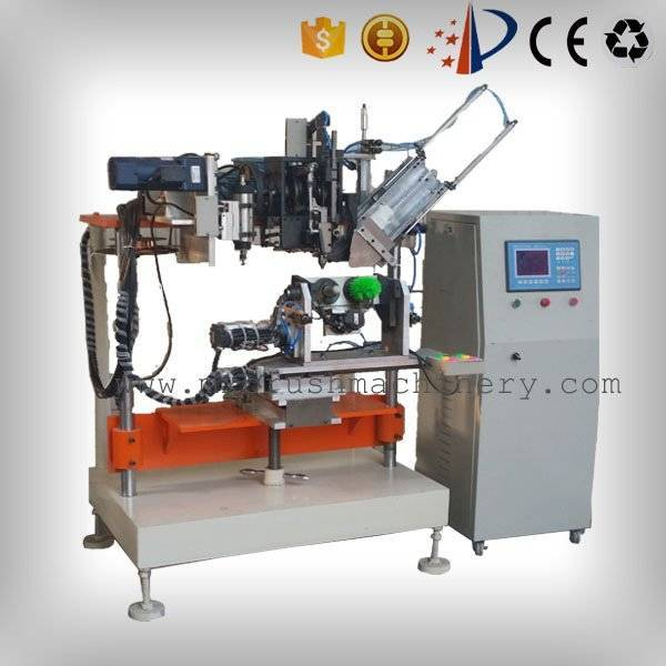 4 Axis 2 Heads Brush Drilling And Tufting Machine
