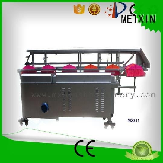 MEIXIN Brand automatic trimming Manual Broom Trimming Machine filament flaggable