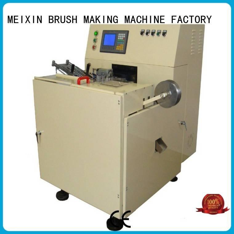 MEIXIN Brand brush axis 1head brush making machine for sale