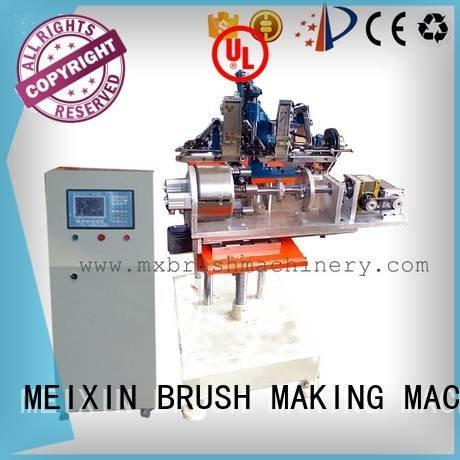 hair heads axis brushes brush making machine manufacturers hair MEIXIN Brand Brush Making Machine