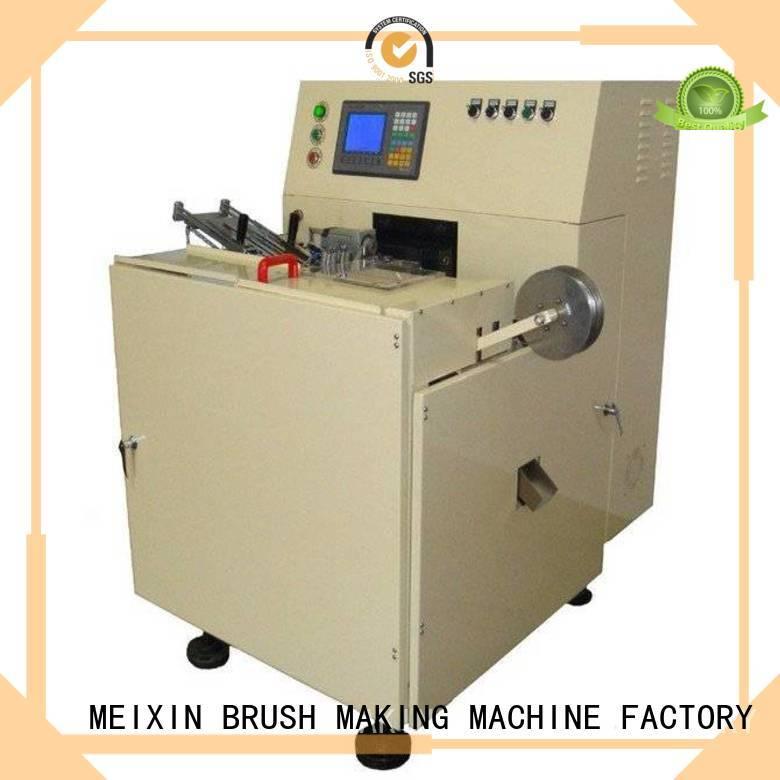 MEIXIN Brand hockey axis broom custom brush making machine for sale