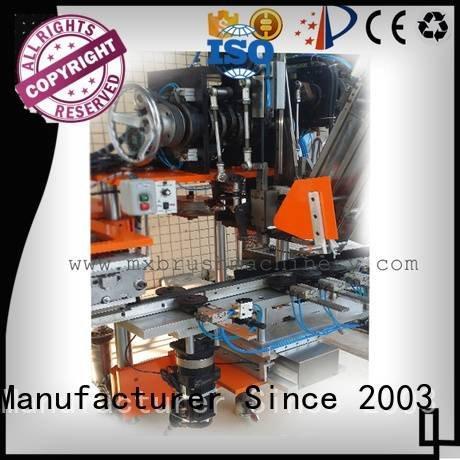 heads machine abrassive drilling MEIXIN cnc brush tufting machine