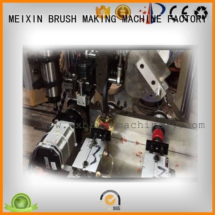 making wheel machine wire MEIXIN Brush Drilling And Tufting Machine