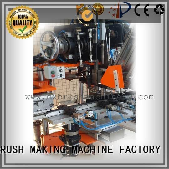 cnc brush tufting machine axis wire tufting brush