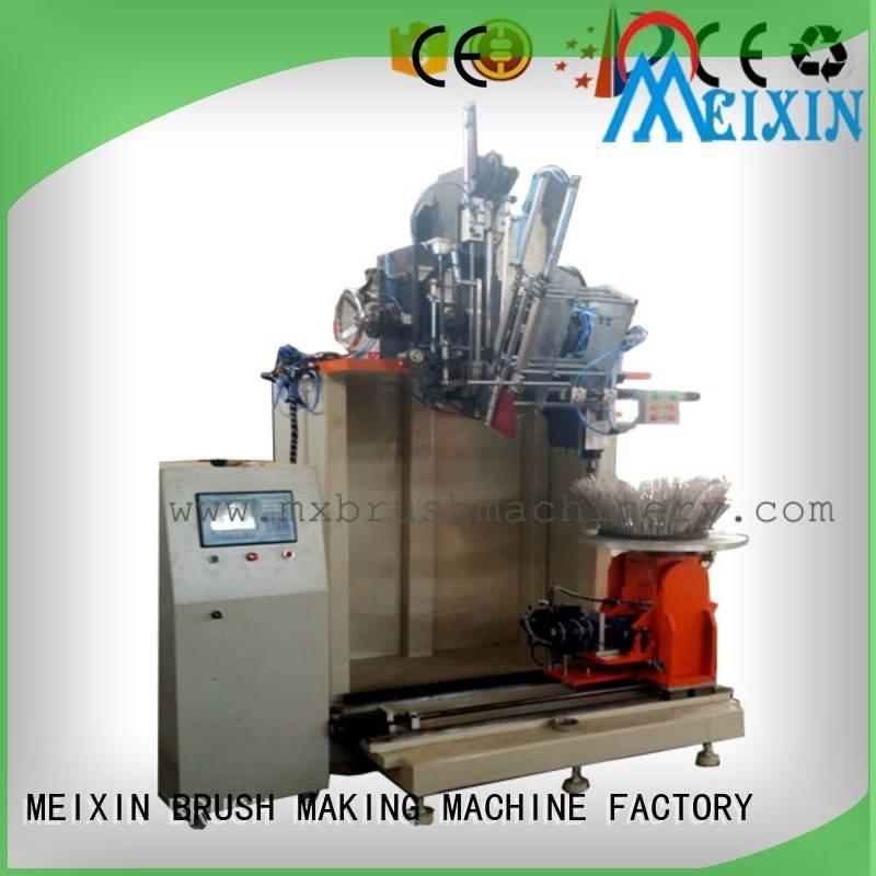 drilling brush axis drilling disc brush making machine machine MEIXIN