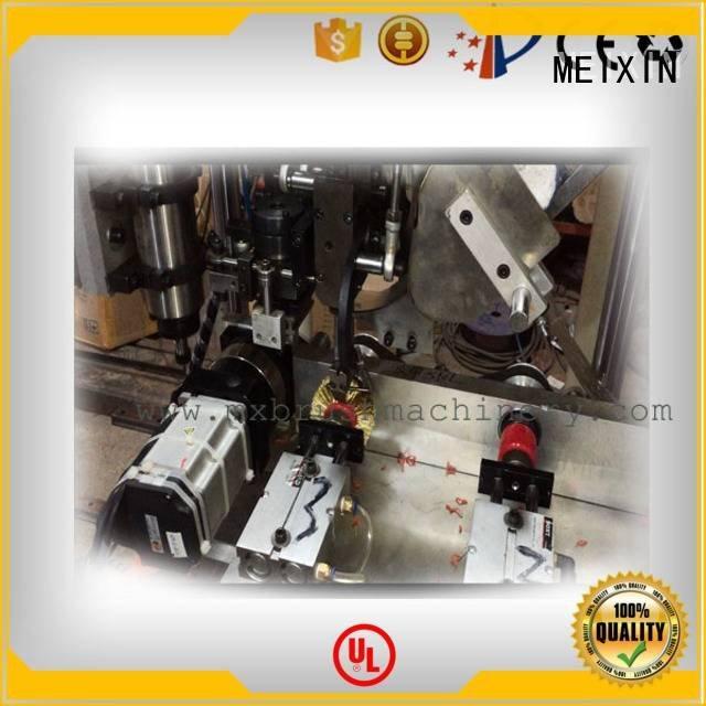 making Brush Drilling And Tufting Machine MEIXIN 3 Axis Brush Drilling And Tufting Machine
