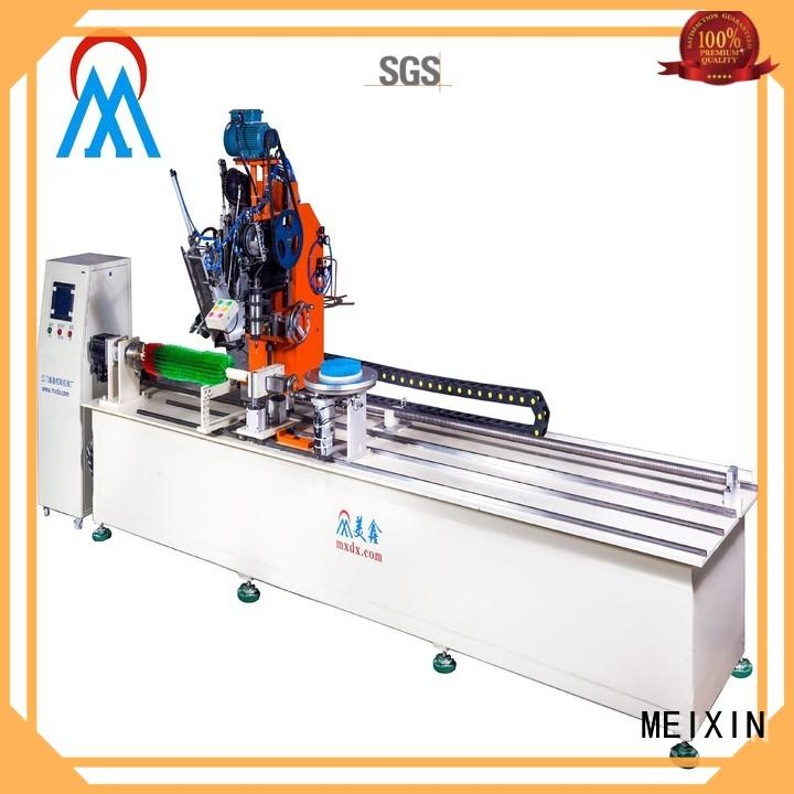 MEIXIN high productivity brush making machine design for bristle brush