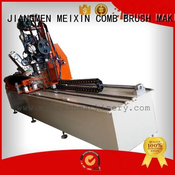 Quality Industrial Roller Brush And Disc Brush Machines MEIXIN Brand for brush making machine