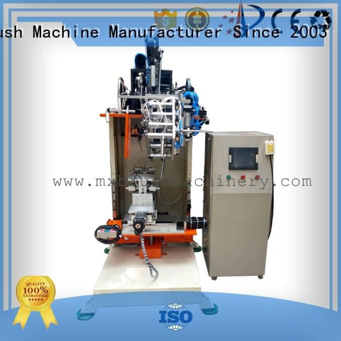 MEIXIN sale flat brushes brush making machine price axis