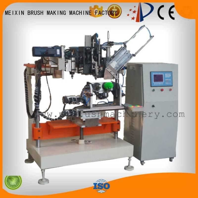 4 Axis Brush Drilling And Tufting Machine heads drilling Drilling And Tufting Machine MEIXIN Brand