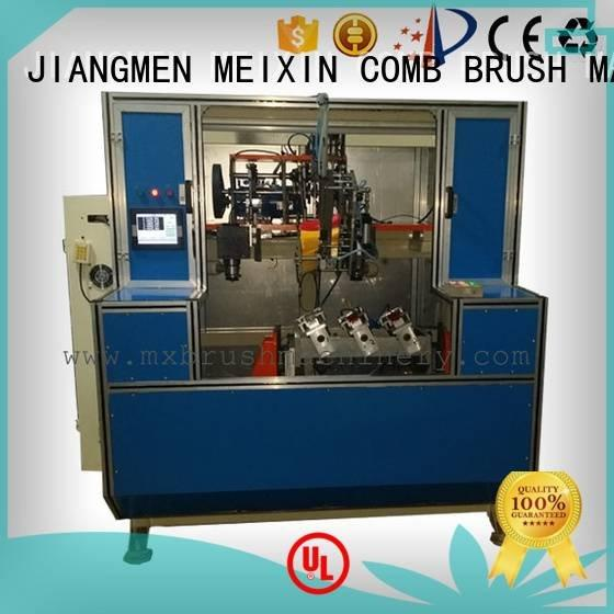 MEIXIN drilling ttufting machine 5 Axis Brush Drilling And Tufting Machine heads