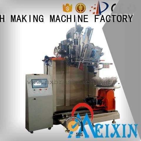 MEIXIN Industrial Roller Brush And Disc Brush Machines head disc drilling small