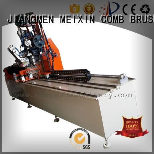 head axis MEIXIN Industrial Roller Brush And Disc Brush Machines