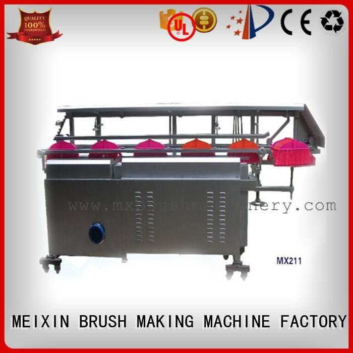 MEIXIN toilet cutting twisted Manual Broom Trimming Machine automatic