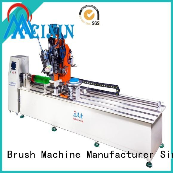 MEIXIN cost-effective brush making machine design for PP brush