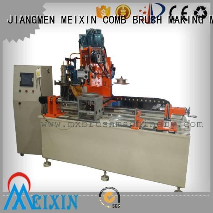 Industrial Roller Brush And Disc Brush Machines drilling brush making machine MEIXIN Brand