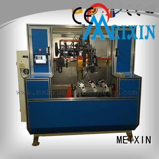 brush broom tufting axis MEIXIN 5 Axis Brush Drilling And Tufting Machine