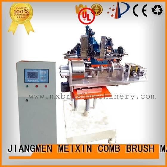 MEIXIN Brand hair heads axis brush making machine manufacturers