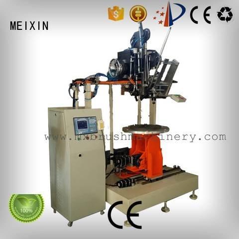 Industrial Roller Brush And Disc Brush Machines mxr201 MEIXIN Brand brush making machine