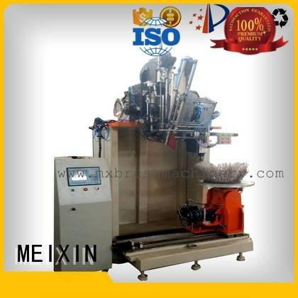 Industrial Roller Brush And Disc Brush Machines axis brush making machine MEIXIN Brand