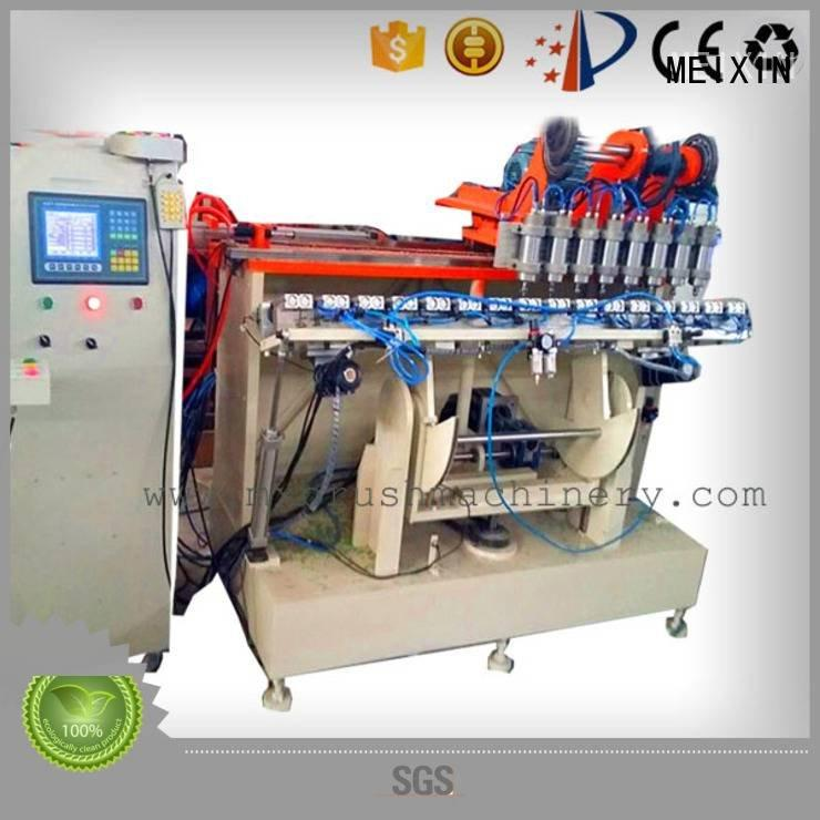 broom drilling making jade MEIXIN 5 Axis Brush Making Machine