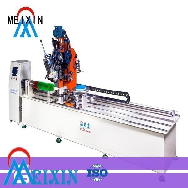 MEIXIN high productivity brush making machine drilling for PET brush