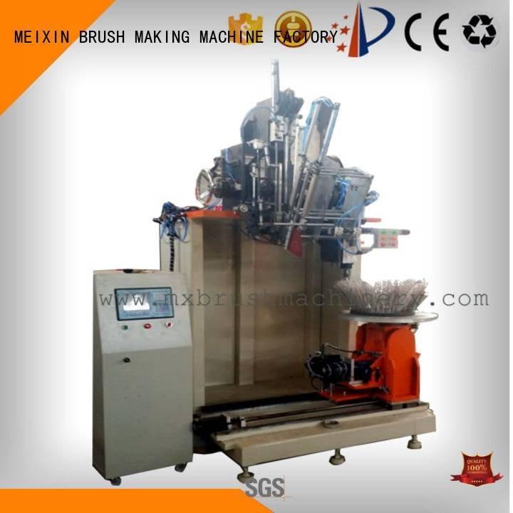 Industrial Roller Brush And Disc Brush Machines machine brush making machine MEIXIN Brand