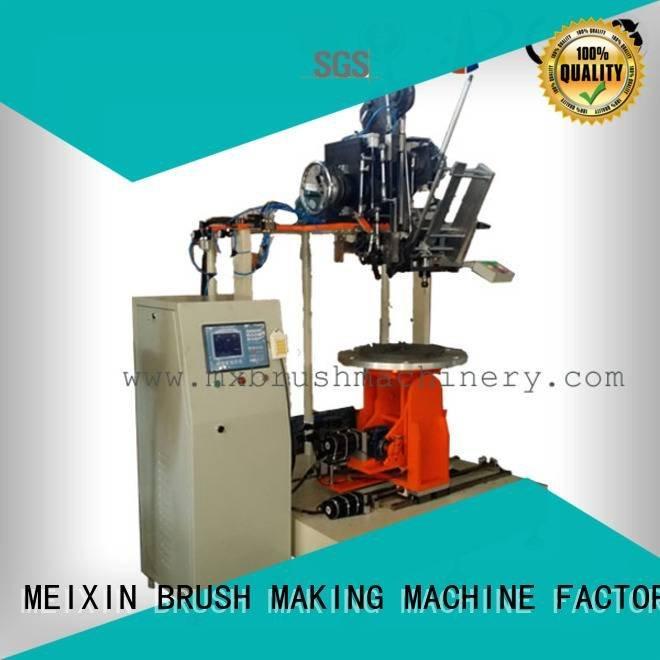 Quality Industrial Roller Brush And Disc Brush Machines MEIXIN Brand machine brush making machine