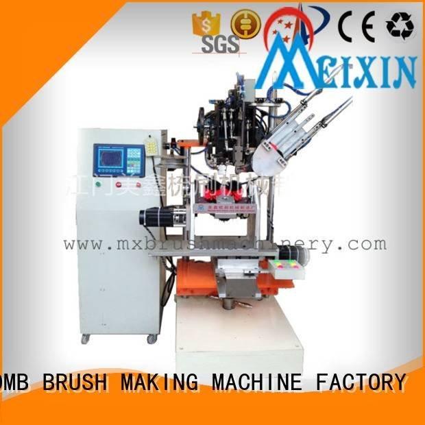MEIXIN Brand axis head 1head Brush Making Machine broom