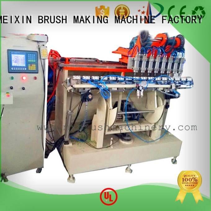 making Brush Making Machine MEIXIN 5 Axis Brush Making Machine