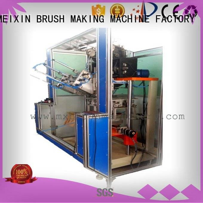 MEIXIN Brand flat snow brushes axis Brush Making Machine