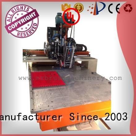 brush making machine price tufting Warranty