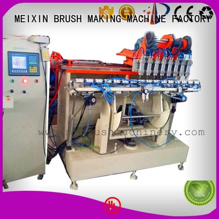 Hot 5 Axis Brush Making Machine axis head machine MEIXIN Brand