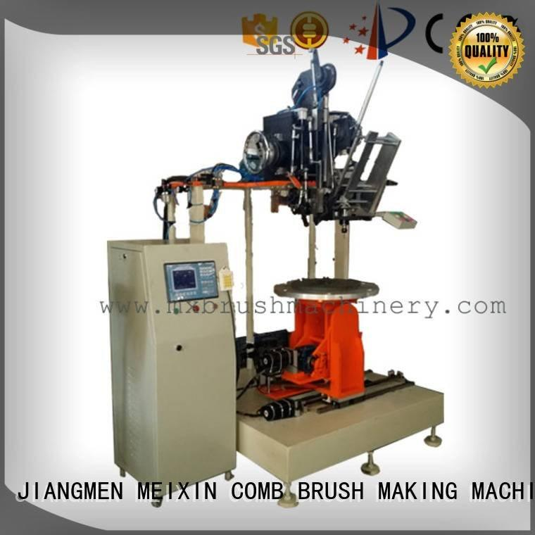 MEIXIN Brand small Industrial Roller Brush And Disc Brush Machines and for