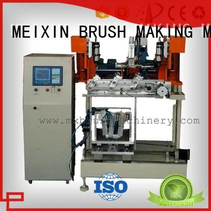 high productivity 4 Axis Brush Drilling And Tufting Machine supplier for industrial brush MEIXIN