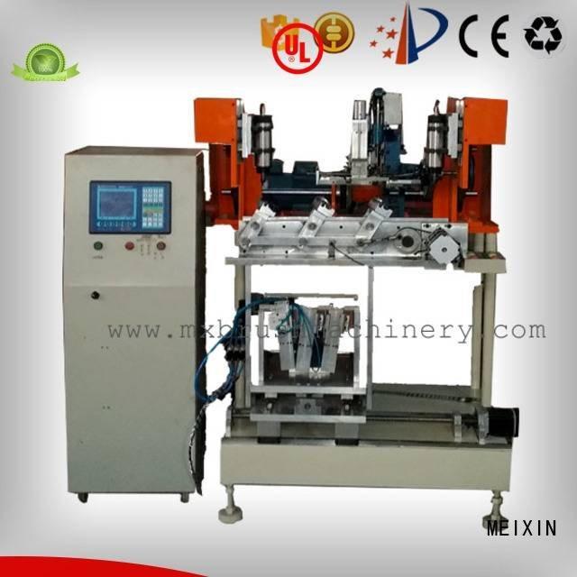 mxf182 machine brush MEIXIN 4 Axis Brush Drilling And Tufting Machine