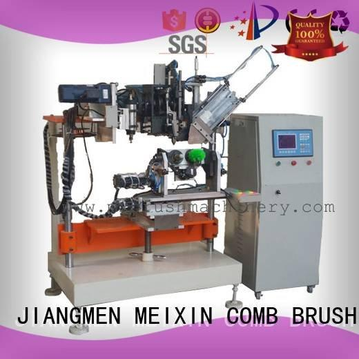 axis machine and brush MEIXIN 4 Axis Brush Drilling And Tufting Machine