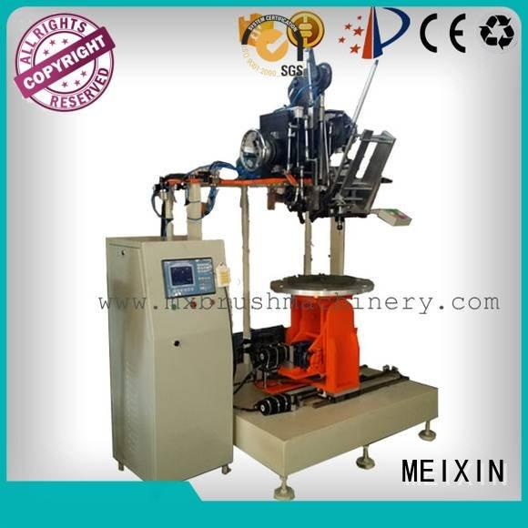 Industrial Roller Brush And Disc Brush Machines and small OEM brush making machine MEIXIN