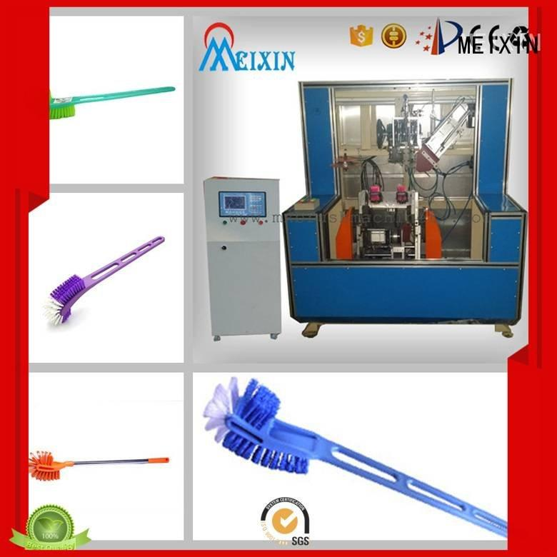 MEIXIN Brand drilling making 5 Axis Brush Making Machine hockey head