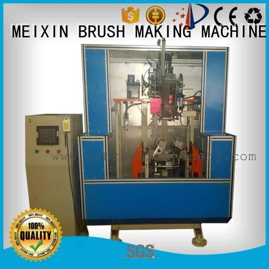 MEIXIN Brand head making axis Brush Making Machine hockey