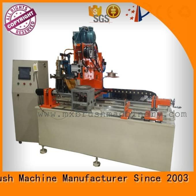Industrial Roller Brush And Disc Brush Machines and MEIXIN Brand brush making machine