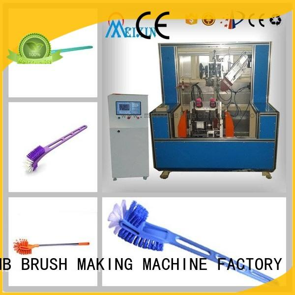 MEIXIN 2 grippers Brush Making Machine directly sale for toilet brush