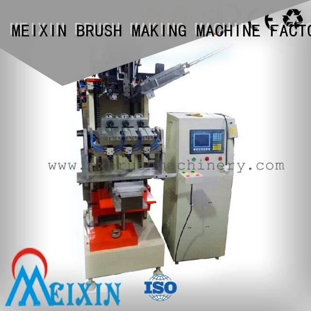 tufting drilling axis mx189 MEIXIN 5 Axis Brush Making Machine